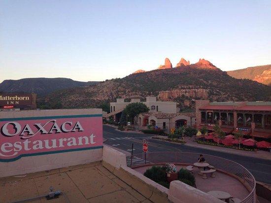 Oaxaca Restaurant: View from Oaxaca