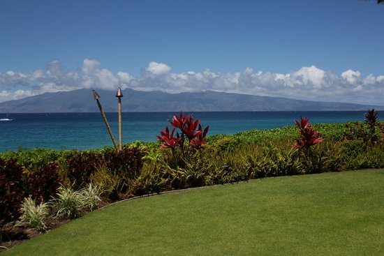 Royal Lahaina Resort: Where their weddings take place we had our renewal ceremony here
