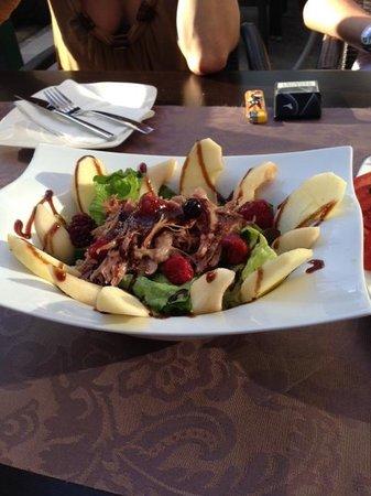 Restaurante Bar La Oca : Салат из груши с уткой!!