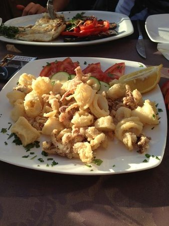 Restaurante Bar La Oca : Кольца кальмара во фритюре