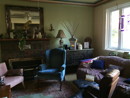Downtown Bed and Breakfast & Spa: reception