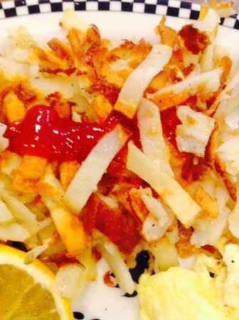 Signal Hill, CA: delicious strip-cut hash browns