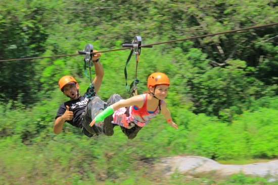 Canopy Indio by Paradise Adventure Park : Supergirl!