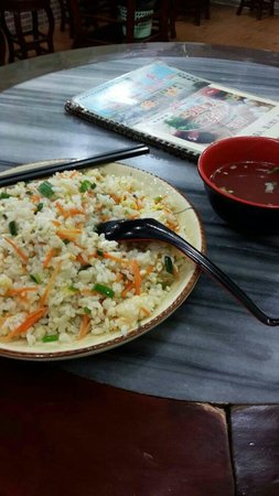 Victoria Hotel: fried rice