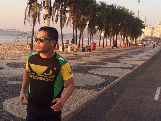 Sofitel Rio de Janeiro Copacabana: Good Morning Copacabana