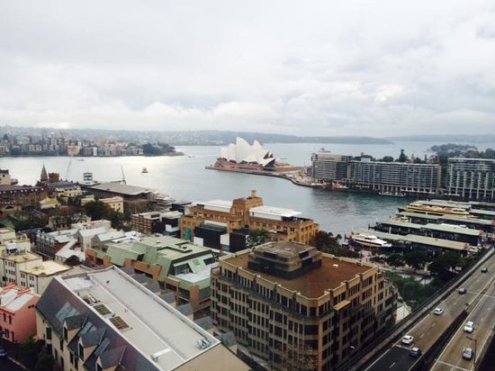Shangri-La Hotel Sydney: オペラハウスもばっちり!