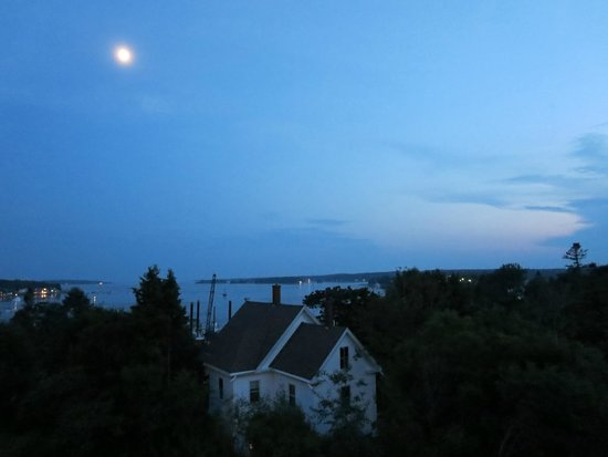 Topside Inn: View from our deck
