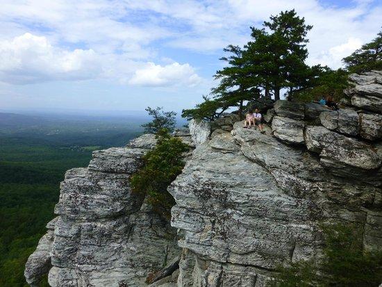Hanging Rock State Park: Top of Hanging Rock
