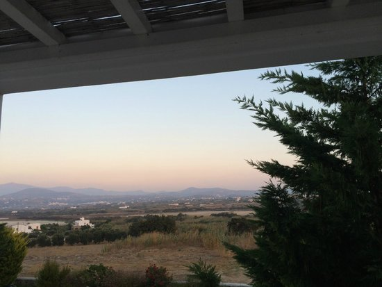Naxian Collection : Sunset view from balcony