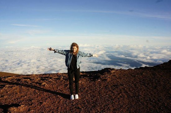 Haleakala National Park: On top of the world @ the Haleakala Summit