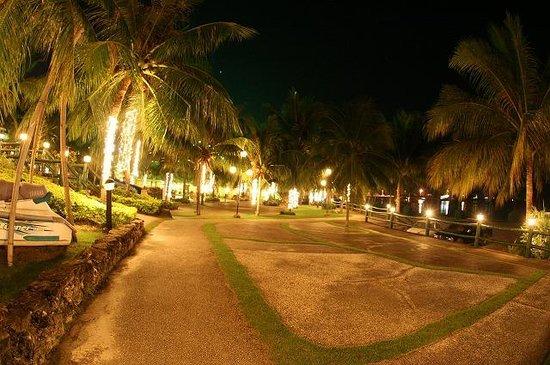 Bohol Tropics Resort: 中庭