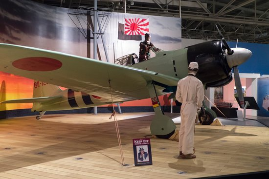 Pacific Aviation Museum Pearl Harbor : Mitsubishi A6M2 Model 21 Type 0