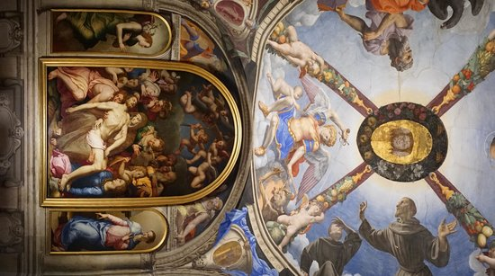 Palazzo Vecchio: One of the many exquisite artworks