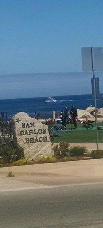 Coast Guard Pier: San Carlos Beach