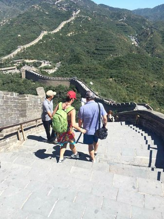 The Great Wall at Badaling: A great day on the WALL