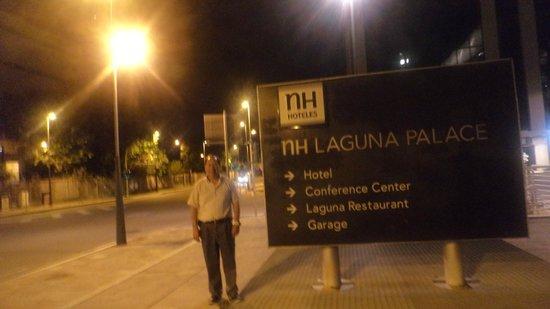 NH Laguna Palace: Exteriores