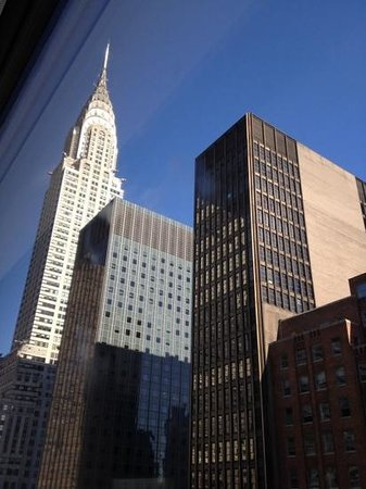 The Westin New York Grand Central: view of Chrysler Bldg from room 1815