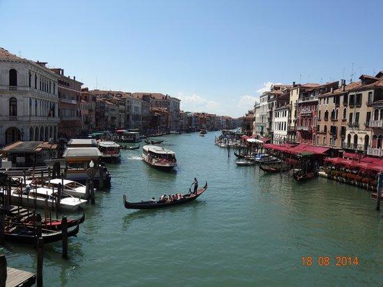 Canal Grande: Grand Canal visto de Rialto