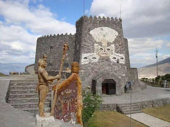 Provincia de Pichincha, Ecuador: templo del sol