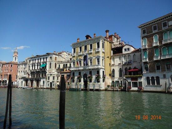 Canal Grande: Grand Canal visto do Mercado de Rialto