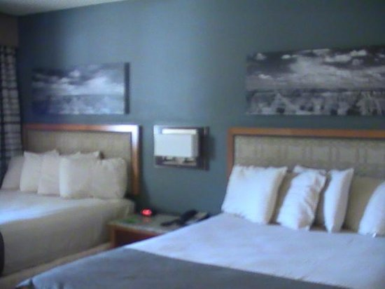 Thunderbird Lodge: two queen size beds