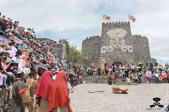 Provincia de Pichincha, Ecuador: festival Pululahua de oro