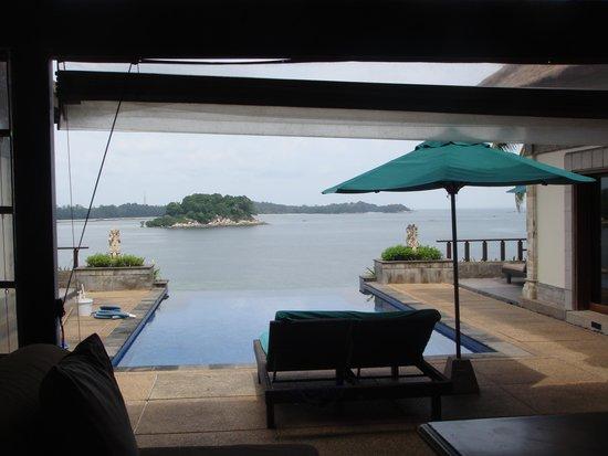 Banyan Tree Bintan : 1bed room villa