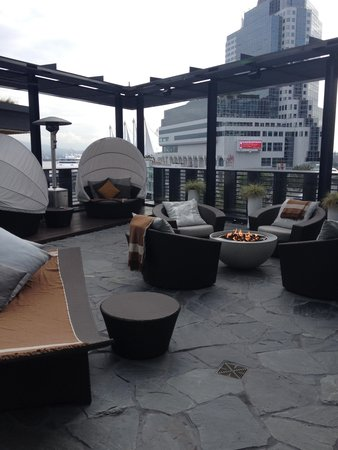Fairmont Pacific Rim : Spa Area