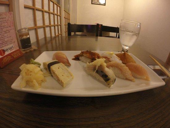 Sayuri Japanese Restaurant: awesome nigiri