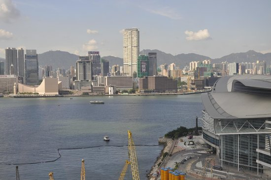 The Harbourview Hong Kong : from room window