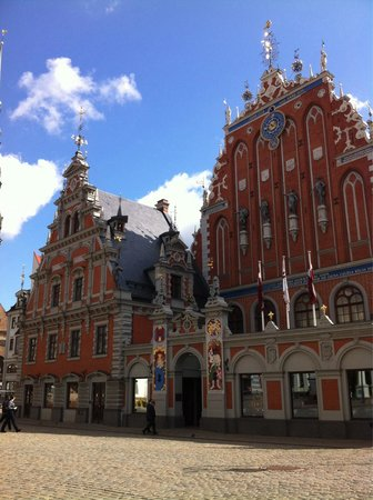 Riga Town Hall Square : Town Hall Square