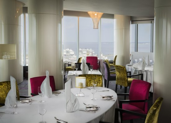 Horisont Restaurant & Bar: View over the table