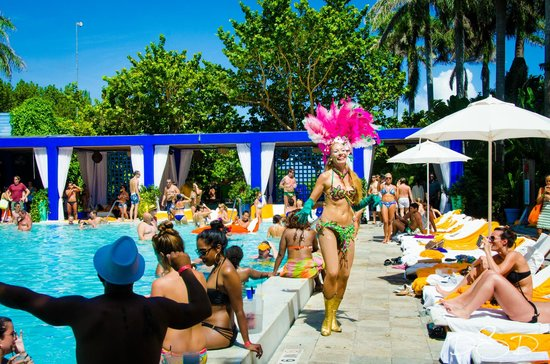 S Club South Beach Hotel Sunday Pool Party