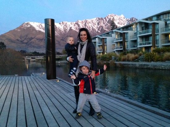 Hilton Queenstown Resort & Spa : On The Pier Getting Ready To Catch The Water Taxi