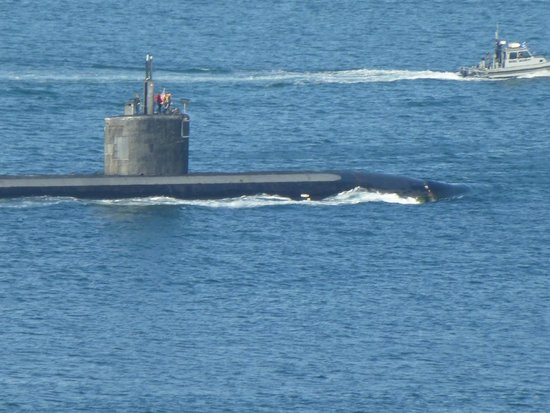 Point Loma : Submarine Outbound