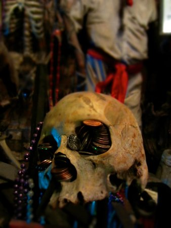 New Orleans Historic Voodoo Museum: Sight for sore eyes.