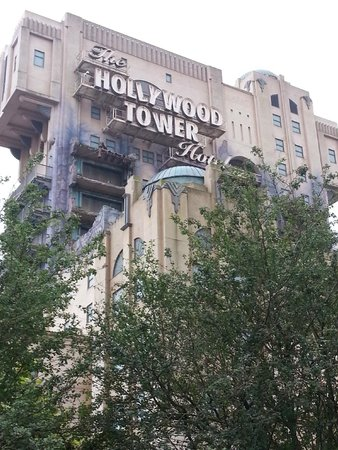 Walt Disney Studios: Tower of Terror ride
