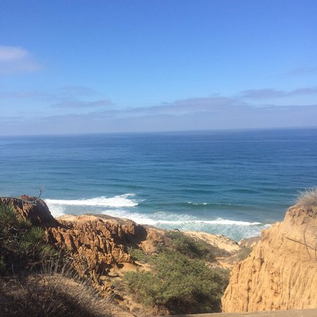 Torrey Pines State Natural Reserve: View from top of Torrey Pines