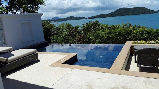Amatara Resort & Wellness: Villa 25 pool