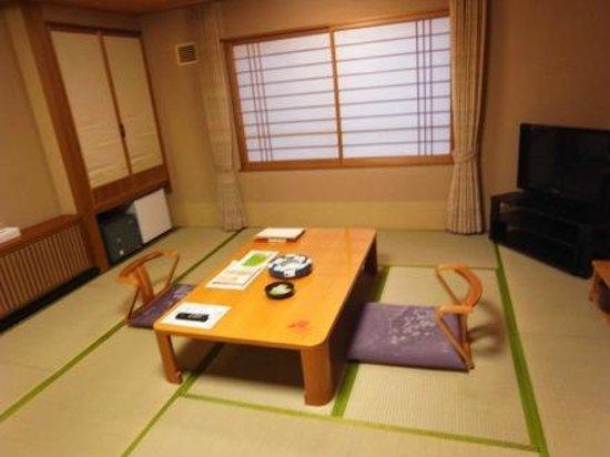 Noboribetsu Sekisuitei: ห้องนอน