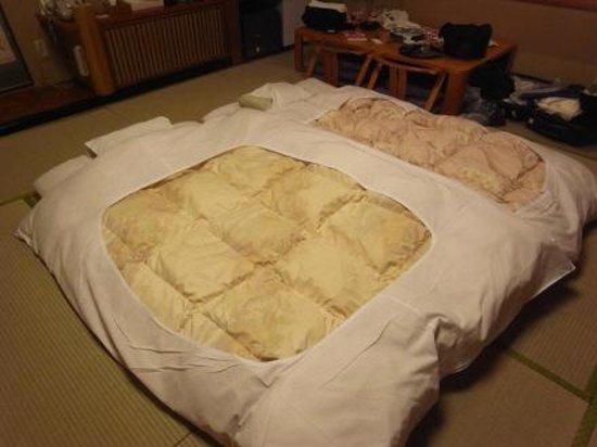 Noboribetsu Sekisuitei: ที่นอน