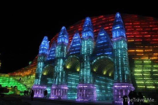 Parque de Atracciones de Hielo y Nieve de Harbin: 哈爾濱冰雪娛樂世界