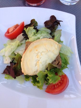 L'Emeraude des Bois : Starter of meal of the day