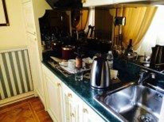 Petit Palais Hotel de Charme: кухня в номере