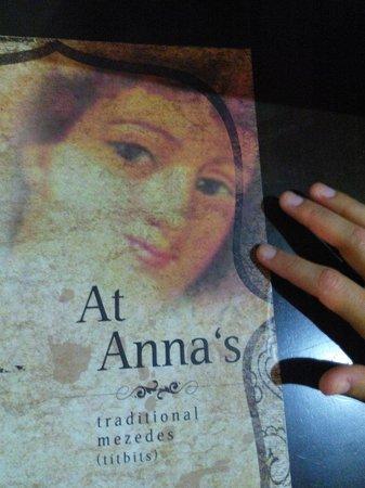 Stis Annas: Set menu