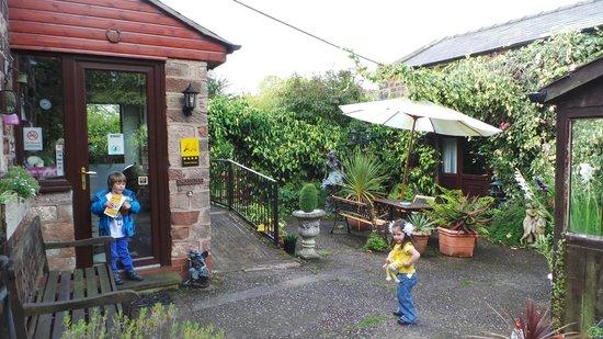 Prospect House: terrace