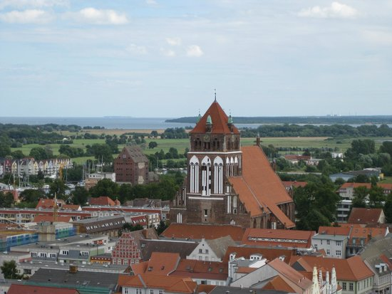 St. Nikolai Cathedral: Ausblick von der Aussichtsplattform