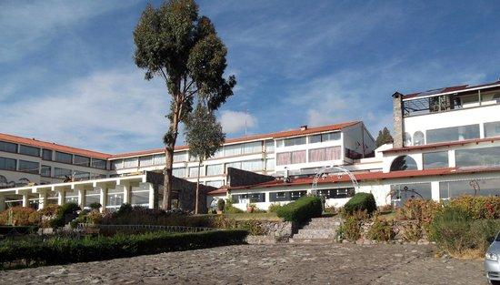 Taypikala Hotel Lago: back of the hotel