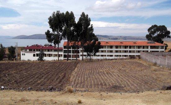 Taypikala Hotel Lago: front of the hotel