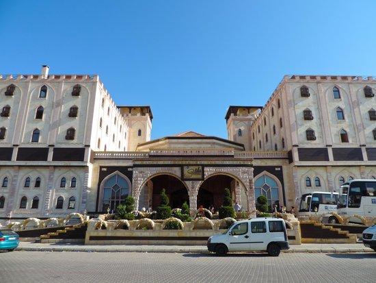 Entr e picture of suhan cappadocia hotel spa avanos for Entree hotel